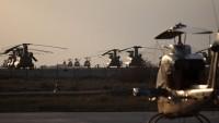 İran Devrim Muhafızlarına Bağlı Helikopterler Gece Dürbünü İle Donatıldı