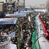 İran halkı bugün bir ağızdan 'Amerika'ya ölüm' dedi