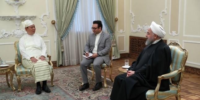 İran Cumhurbaşkanı Ruhani, Rohingia Müslümanlarının hızlı şekilde yurtlarına dönmelerini istedi