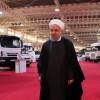 İran Cumhurbaşkanı, yerli üretim otomotiv fuarını ziyaret etti