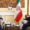 Emir Abdullahiyan Rusya büyükelçisiyle görüştü