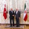 Zarif ile Çavuşoğlu Tahran'da bir araya geldi