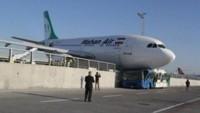 İran yolcu uçağı, Türkiye'de kaza geçirdi