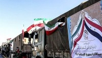İran'ın yardım konvoyu Halep'e ulaştı