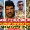 İran'ın Özel Kuvvetlerine Mensup 4 Mücahid, En Az 200 Tekfirciyi Öldürdükten Sonra Şehid Olmuşlar