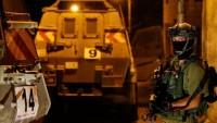 Siyonist İsrail Güçleri Batı Yaka'da 11 Filistinliyi Gözaltına Aldı