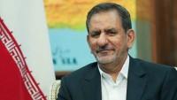 İran Cumhurbaşkanı Yardımcısı Cihangiri: İran'ın deneyimleri Irak'ın hizmetindedir