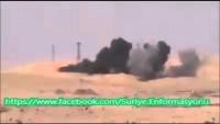 Video: IŞİD'in Bombalı Aracı İmha Ediliyor