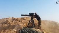 IŞİD teröristleri Suriye ordusuna ABD yapımı füzeyle saldırdı