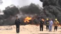 IŞİD yangını bir haftadır söndürülemiyor