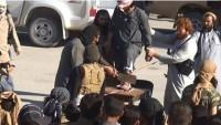 Foto: IŞİD Vahşileri Hama'da İlk Kez Bir Adamın Ayağını Kesti