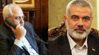 Hamas Lideri İsmail Heniyye İran Dışişleri Bakanı Zarif'i Aradı