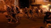 İşgal Güçleri Dün Gece Batı Yaka'da 15 Filistinliyi Tutukladı