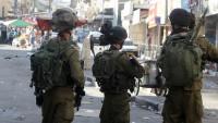 Siyonist İsrail, Batı Şeria'da Birçok Bölgede Baskın Düzenledi
