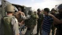 Siyonist İsrail Güçleri Batı Yaka'da ve Kudüs'te 11 Filistinliyi Gözaltına Aldı