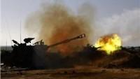 Siyonist İsrail Tanklarının Ateş Açması Sonucu Gazze Sınırında İki Kişi Yaralandı