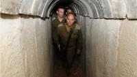 Siyonist İsrail Ordusu, Askerlerini Tünellerde Eğitiyor