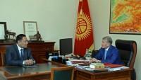 Kırgızistan Cumhurbaşkanı, korumasını Bakan yaptı