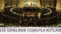 Türkiye'de Mevlit Kandili coşkuyla idrak edildi