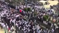Video: Katif'te Camiye Yapılan Saldırıda Şehid Olanları Binlerce Müslüman Son Yolculuğuna Uğurladı