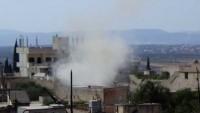 Tekfirci Teröristler Keferya, Fua ve Şam Kırsalını Beldelerini Füzelerle Vurdu