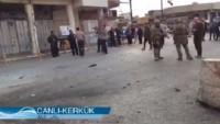 Kerkük'te Haşdi Şabi Mücahidlerinin Karargahına Çifte Bombalı Saldırı