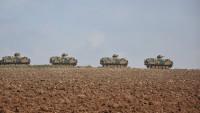 Kilis'in Suriye sınırına yakın kesimlerine askeri sevkiyat yapıldı