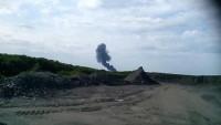 Kırım'da özel uçak düştü: 4 ölü