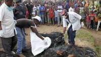 Kongo'da 40 Polis'in Kafasını Kestiler