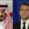 Suudi Kral Selman ve Macron Telefonda Görüştü