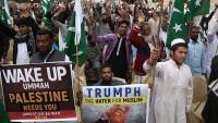 Afganistan ve Pakistan halkı, Trump'ın Kudüs kararını protesto etti