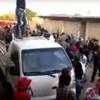 Kamışlı'da Kürtler PYD'yi Protesto Etti