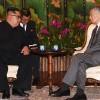 Kuzey Kore lideri Kim Jong-un Singapur Başbakanı ile görüştü