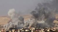 Lübnan ordusu DEAŞ'a ait mevzileri vurdu
