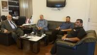 Hamas Heyeti Lübnan'ın Sayda Kenti Belediye Başkanını Ziyaret Etti