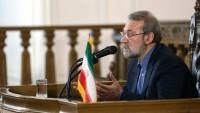 İran Meclisi Başkanı Laricani, Basın Toplantısı Düzenledi