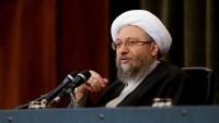 Ayetullah Laricani: Düşmenin tehditleri, halkın 22 Behmen yürüyüşüne yoğun katılımıyla etkisizleştirilmiştir