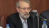Laricani: Deprem hadisesinde İran milleti birliktelik ruhunu bir daha gösterdi