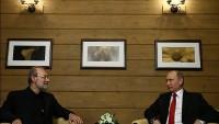 İran meclis başkanı Laricani, Rusya devlet başkanı ile görüştü