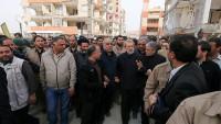 Laricani: Depremzedelerin en asli meselesi geçici iskan ve evlerinin yeniden onarımıdır