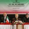 Laricani: Suudilerin Siyonist İsrail ile ilişkileri Arabistan'ın zararınadır