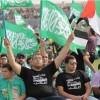 """Umm'ul-Fahm şehrinde binlerce kişi """"Lebbeyk Ya Aksa"""" diye haykırdı"""