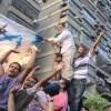 Mısır halkı siyonist rejimi protesto etti