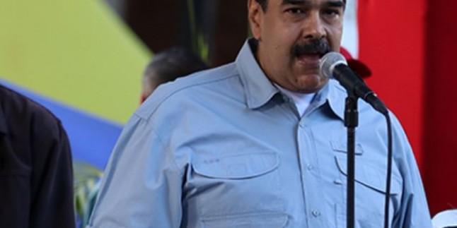 Maduro: Trump, Uruguay ve Meksika'nın barışçıl diyalog girişimini baltalamak istiyor
