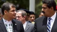 Venezuela lideri Maduro: Ekvador halkı ve Başkan Rafael Correa ile dayanışmayı etkinleştirme zamanıdır