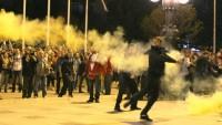 Makedonya'da protestolar büyüyor