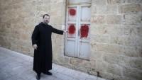 Kudüs'te manastıra saldırı