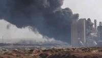 Teröristler Halep'te Ellerinde Kalan Bölgeleri Ateşe Veriyor