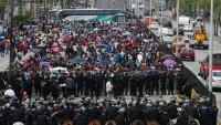Meksika'da öğretmenler ayaklandı