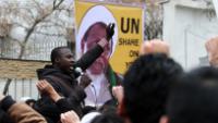 Foto: İran'ın Meşhed kenti halkı Nijerya ordusunun cinayetlerini kınadı